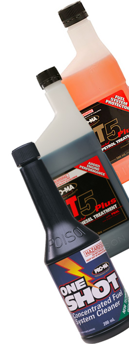 Pro-Ma Systems Performance fuel and oil treatment products